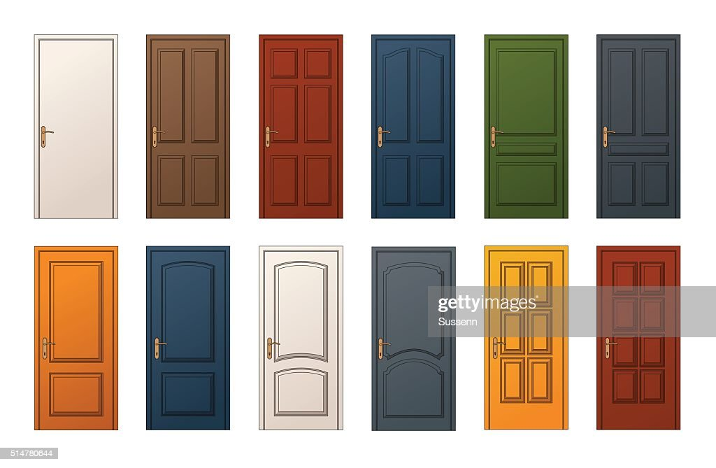 Colorful Doors Collection