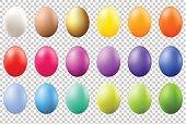 Colorful Eggs Set