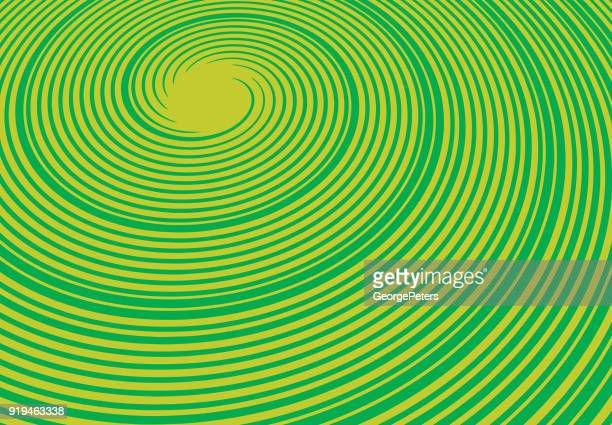 Colorful engraving Spiral halftone pattern background