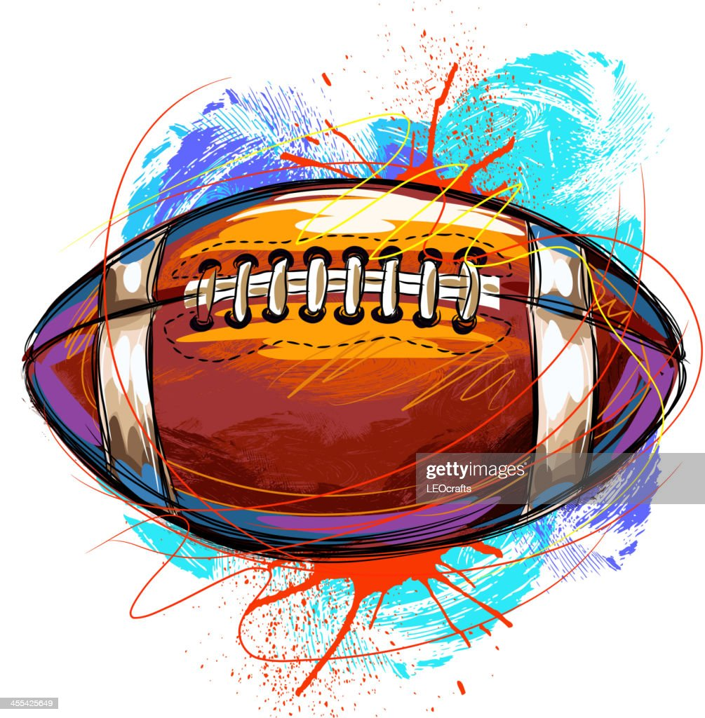 Colorful Football