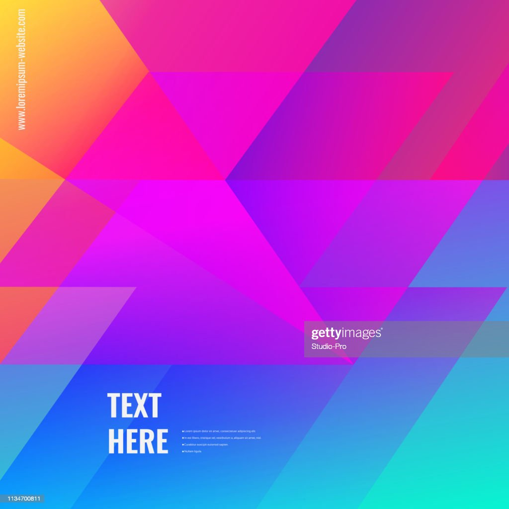Colorful geometric background : stock illustration