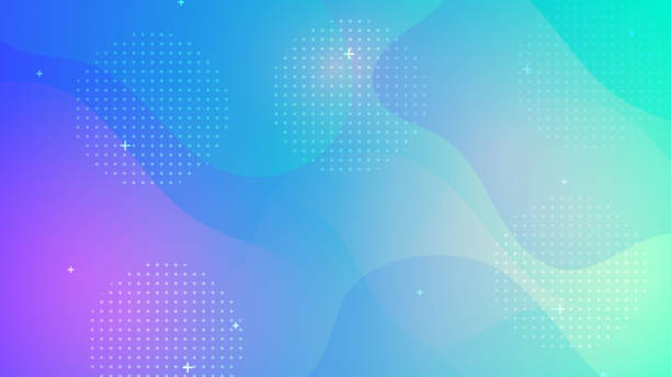 colorful geometric background - cool attitude stock illustrations