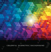 Colorful Geometric Backgrounds.