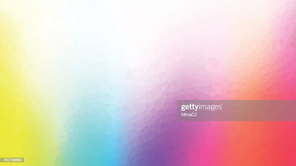 colorful geometric polygonal abstract background