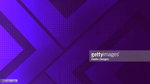colorful geometry pattern background - purple stock illustrations