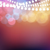 Colorful glowing Christmas lights background