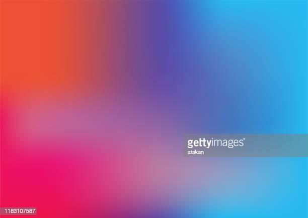 bunte gradient hintergrund-design - biegung stock-grafiken, -clipart, -cartoons und -symbole