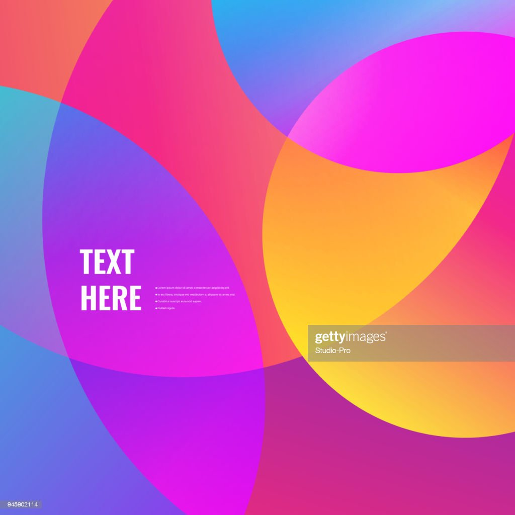 Colorful gradients background