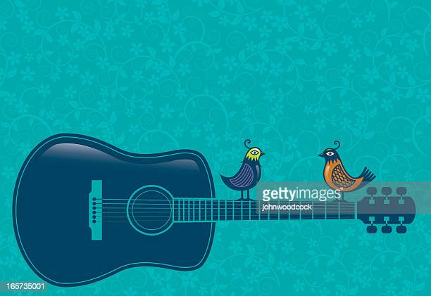 Acoustic Guitar Vector Art And Graphics
