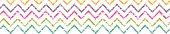 Colorful grunge chevron horizontal border seamless pattern background