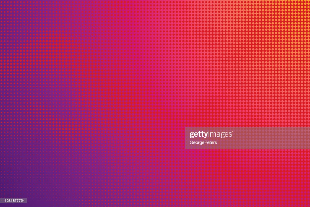 Colorful Halftone Pattern Abstract background : Stock Illustration