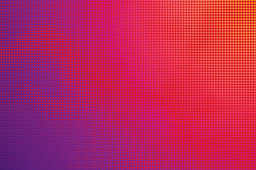Colorful Halftone Pattern Abstract background - gettyimageskorea