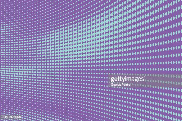 colorful halftone pattern abstract background - changing form stock illustrations