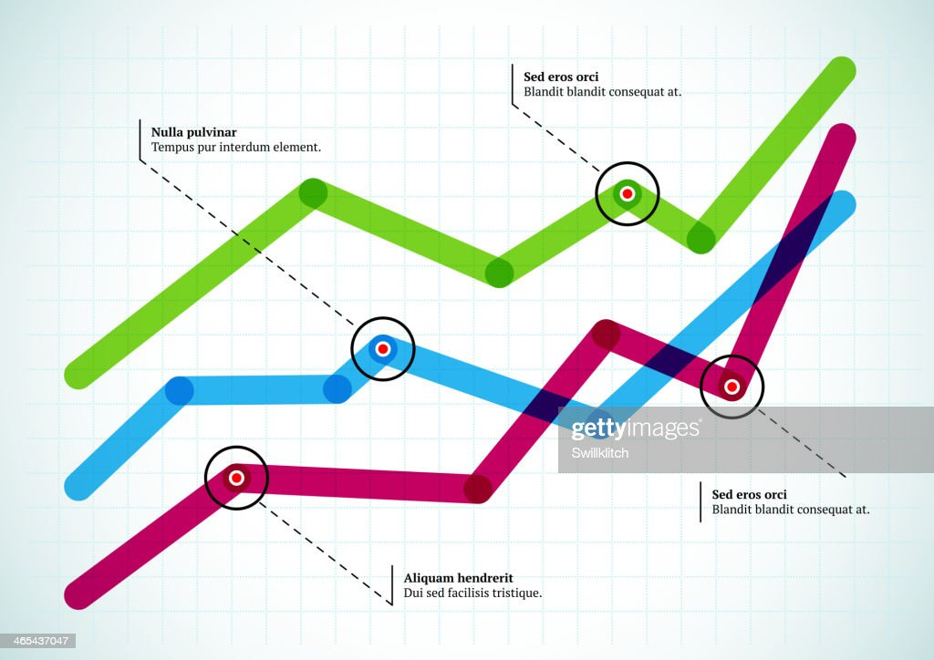 Colorful intersecting graph lines