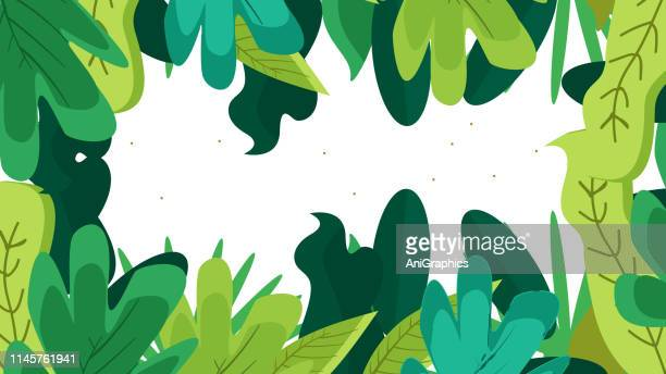colorful leave background - leaving stock illustrations