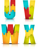 Colorful Letter Puzzle