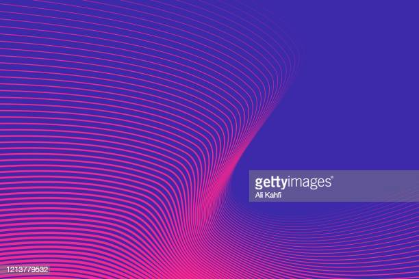 colorful lines pattern background - line stock illustrations