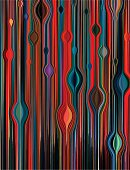 Colorful Liquid Abstract Background