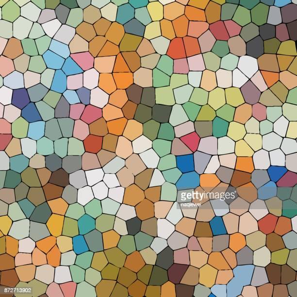 Buntes Mosaik strukturiertem Hintergrund