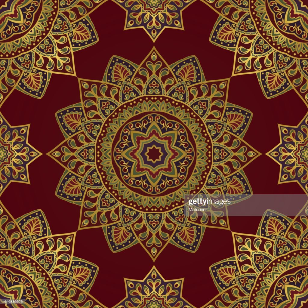 Colorful oriental ornament.