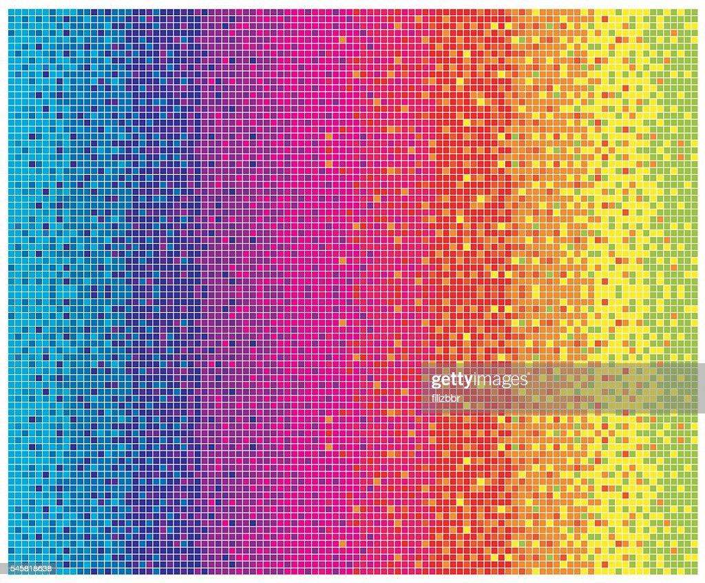 Colorful pattern background - Illustration