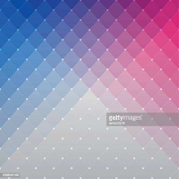 colorful pixels background - red and blue background stock illustrations