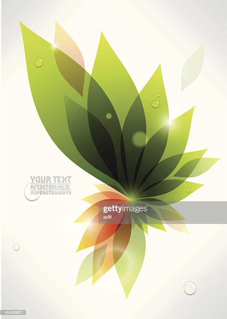 colorful plant background