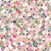 Colorful Seamless Mosaic Pattern