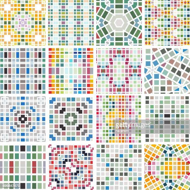 Colorful Seamless Pattern Collection