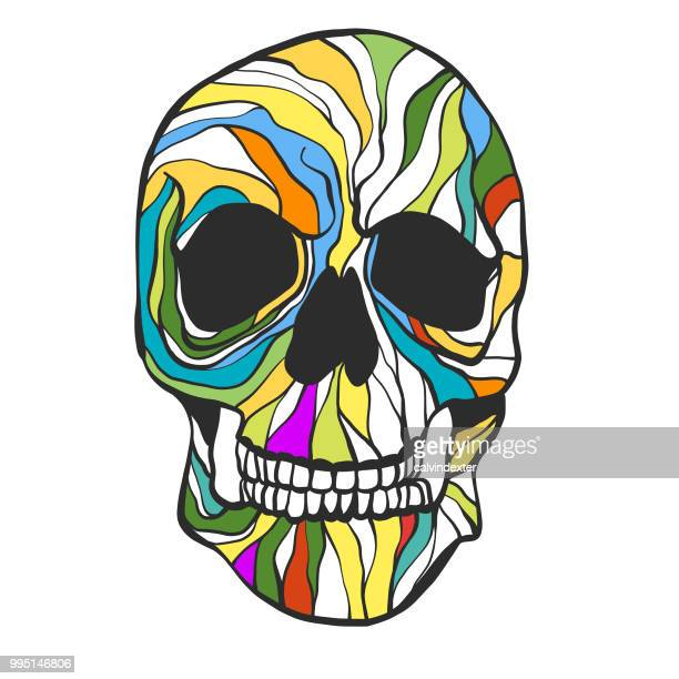 21 Tete De Mort Mexicaine Illustrations Cliparts Dessins