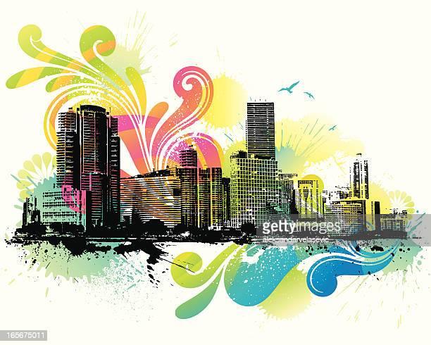 Colorful Skyline