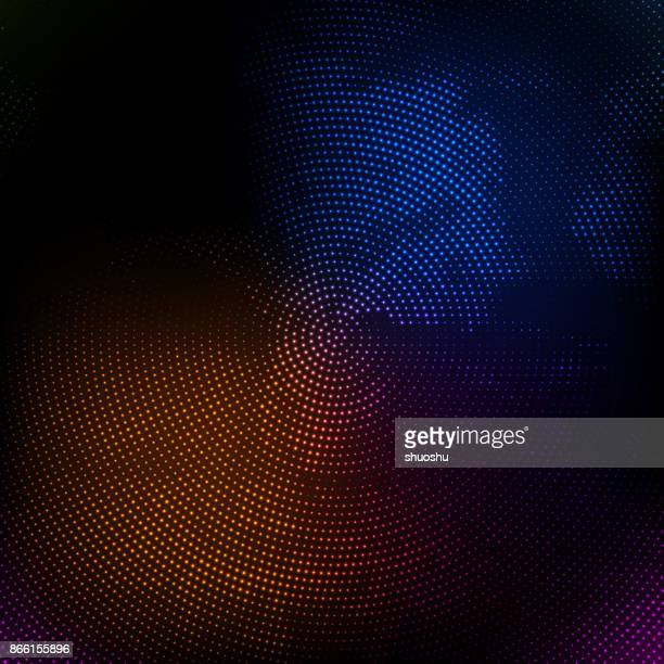 colorful spot technology background