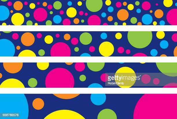 Colorful Spots Banners