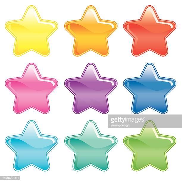 Colorido estrellas