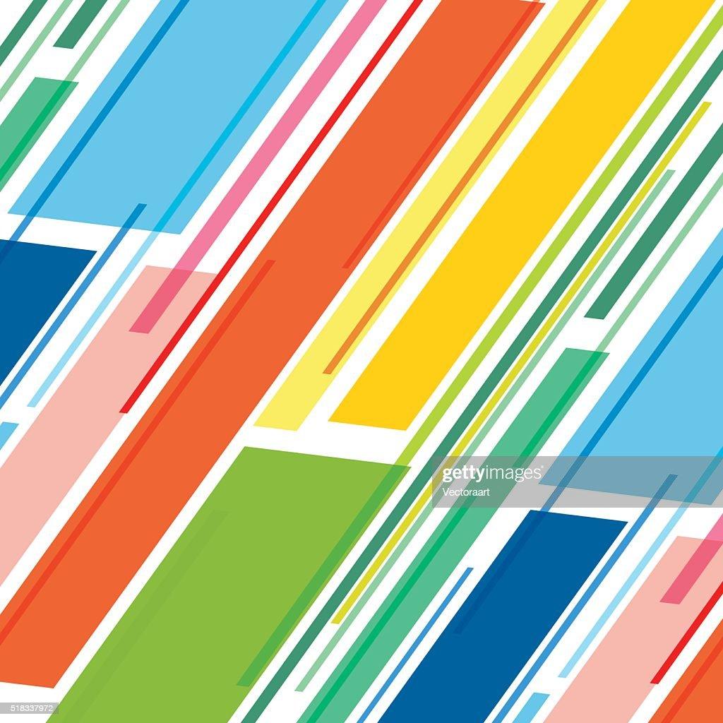 colorful stripe pattern design