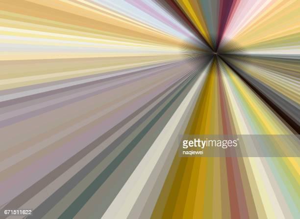 カラフルなストライプ パターン ベクトル