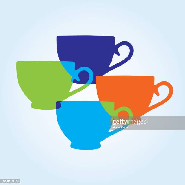 Colorful Teapot Icons