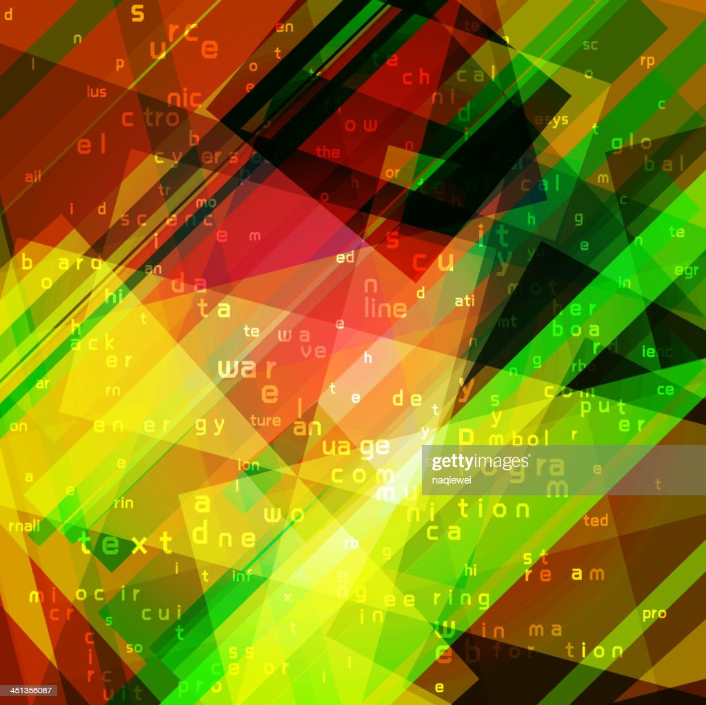 colorful technology concept background