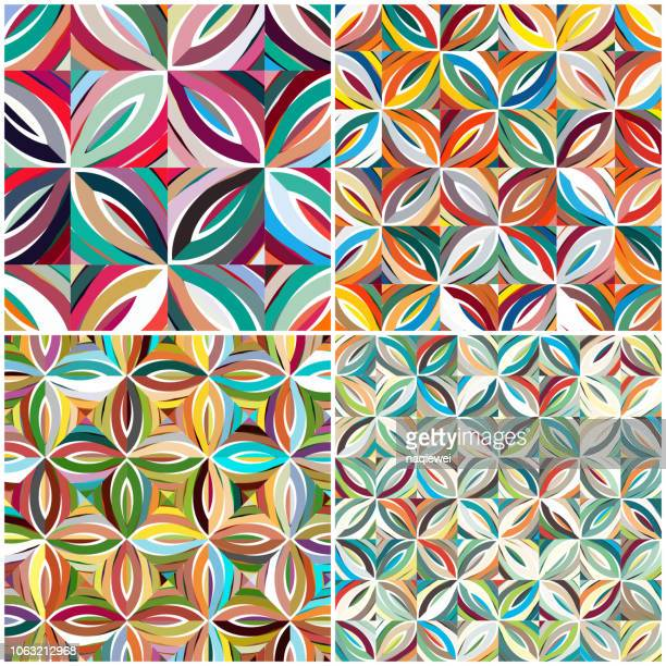 colorful textile pattern - paisley pattern stock illustrations, clip art, cartoons, & icons