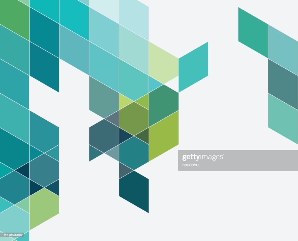 colorful triangle pattern background