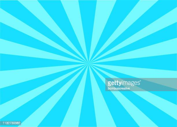 colorful vector sunburst - colored background stock illustrations