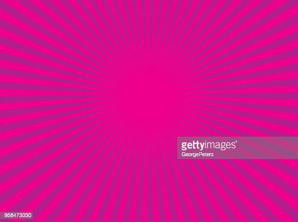 Colorful Vector Sunburst