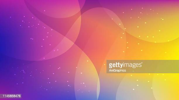colorful wave background - mixing stock illustrations