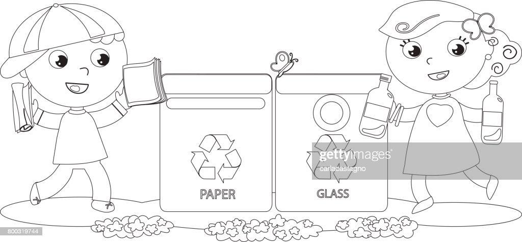 Ausgezeichnet Recycling Färbung Bilder - Druckbare Malvorlagen ...