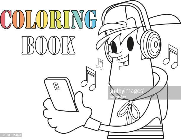 coloring page - naughty america stock illustrations