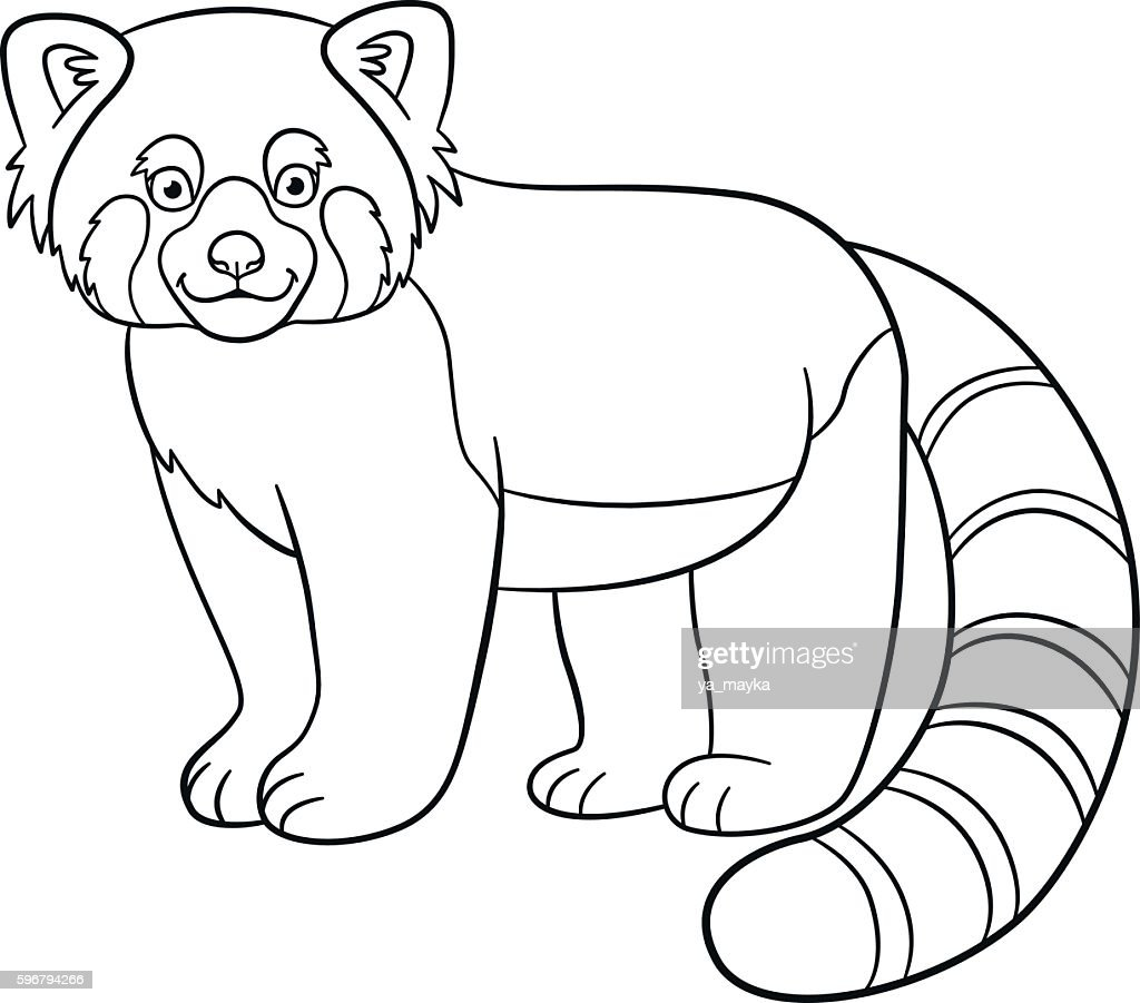 red panda coloring page https coloredbabbage netlify app red panda coloring page html