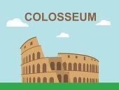 Colosseum illustration