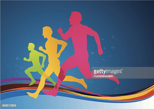 colourful athletes - traditional sport stock illustrations, clip art, cartoons, & icons