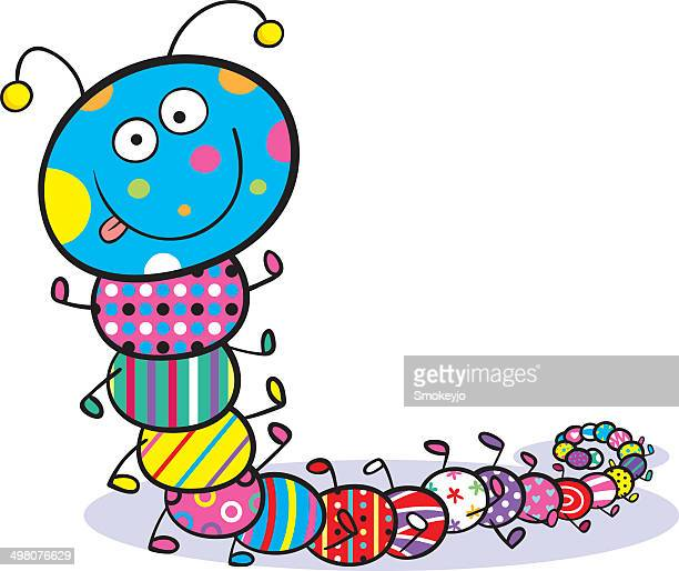 Colourful Caterpillar