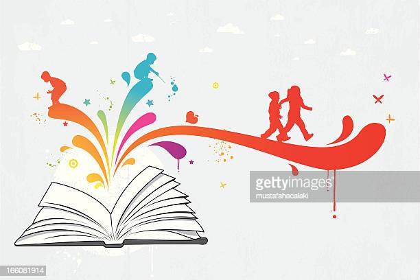 Colourful children book